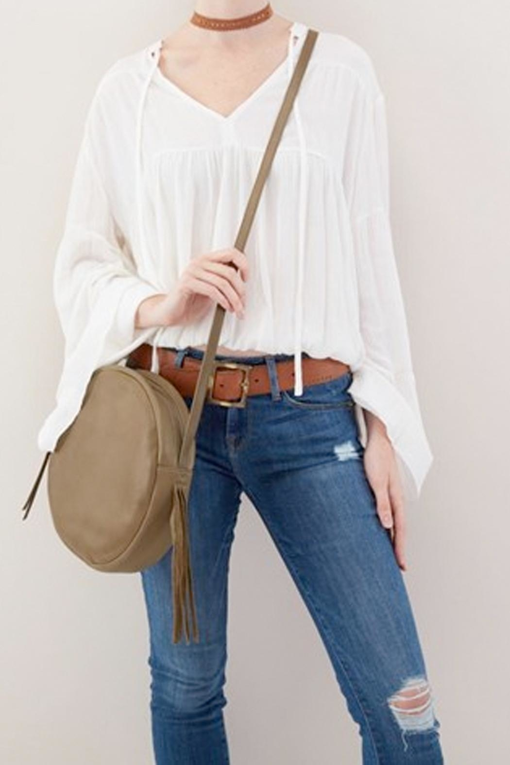 Hobo Union Leather Crossbody - Side Cropped Image