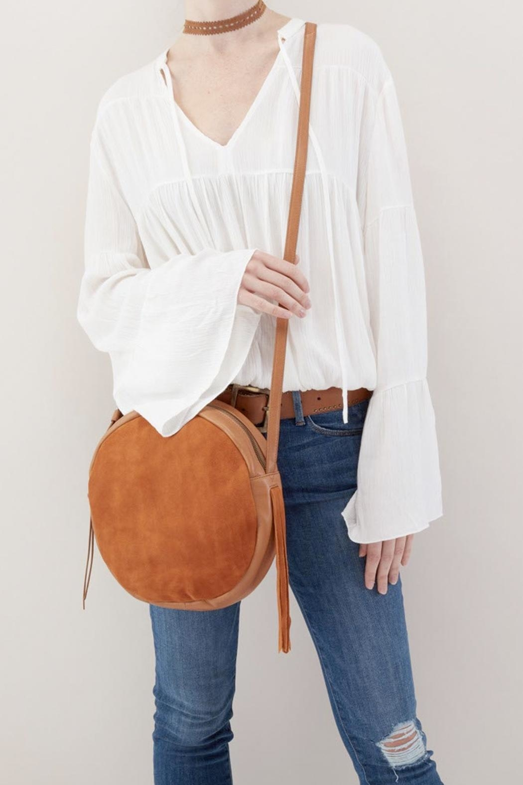 Hobo Union Suede Crossbody - Side Cropped Image