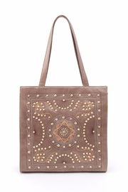 Hobo The Original Embroidered Leather Tote - Product Mini Image