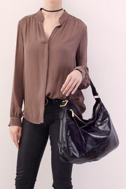 Hobo The Original Leather Slouchy Hobo - Front full body