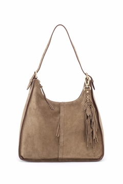 Shoptiques Product: Sage Suede Hobo