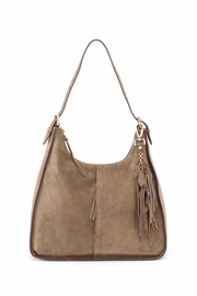 Hobo The Original Sage Suede Hobo - Product Mini Image