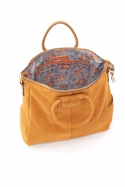 Hobo The Original Suede Travel Bag - Front full body