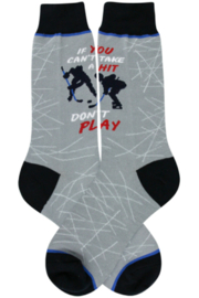 Foot Traffic Hockey/If You Can't Take a Hit Don't Play - Product Mini Image