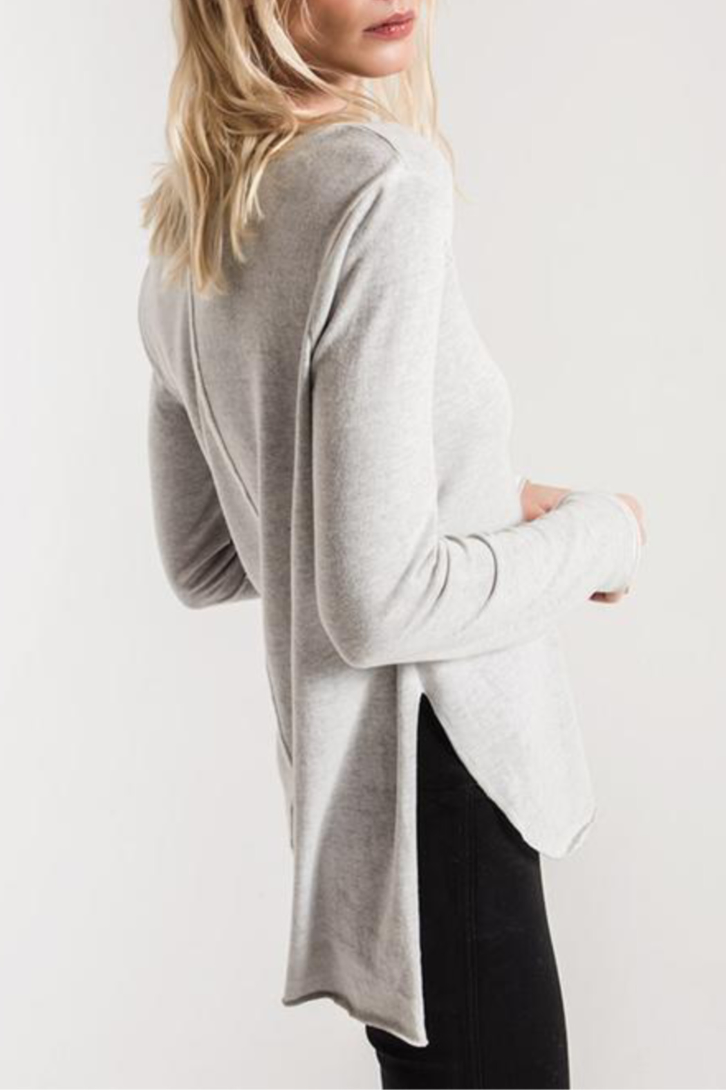 White Crow Holbrook L/S Top - Front Full Image