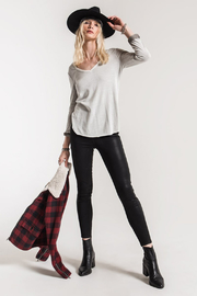 White Crow Holbrook L/S Top - Front cropped