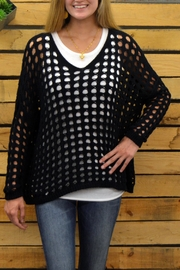 Planet Holey Sweater - Front full body