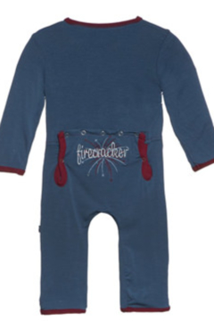 Kickee Pants Holiday Applique Coverall - Alternate List Image