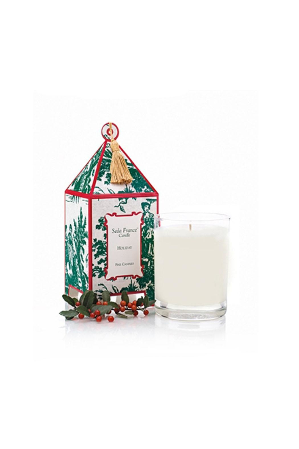 Seda France Holiday Candle - Main Image
