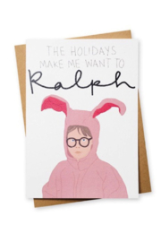 TAYHAM Holiday Card - Ralph - Product Mini Image