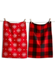 Tag Holiday Dishtowel Set - Product Mini Image