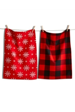 Tag Holiday Dishtowel Set - Alternate List Image