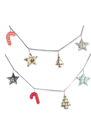 Paper Wings Holiday Garland - Front cropped