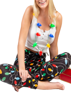 Two Left Feet Holiday Leggings - Product List Image