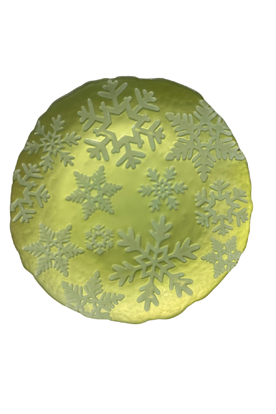 The Birch Tree Holiday Plates - Front Cropped Image