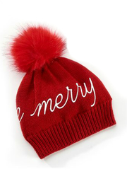 Gift Craft Holiday Pom Hat - Front cropped
