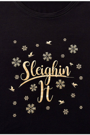 Giftcraft Inc.  Holiday Sentiment Sleep Shirt - Front cropped