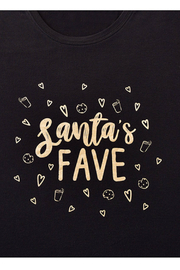 Giftcraft Inc.  Holiday Sentiment Sleep Shirt - Side cropped