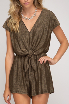 She and Sky Holiday Treats Romper - Product List Image