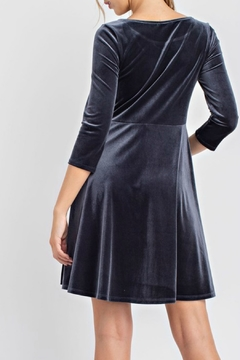 12pm by Mon Ami Holiday Velour Dress - Alternate List Image
