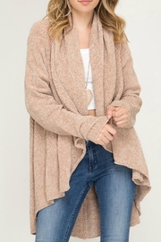 She + Sky Holly Chenille Cardigan - Product Mini Image