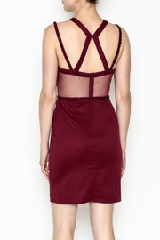 Minuet Holly Cocktail Dress - Back cropped