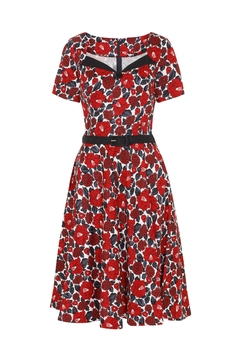 Voodoo Vixen Holly Holiday Dress - Product List Image