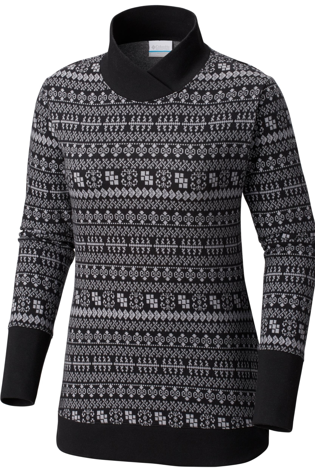 Columbia Sportswear Holly-Peak Jacquard Sweater - Front Cropped Image