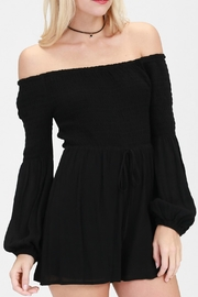 ALB Anchorage Holly's Off-Shoulder Romper - Product Mini Image