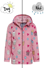 Holly & Beau Cupcake Color-Changing Raincoat - Product Mini Image