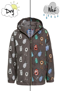 Holly & Beau Monster Color-Changing Raincoat - Alternate List Image