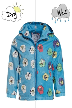 Shoptiques Product: Pansy Color-Changing Raincoat