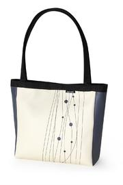 Holly Aiken Vegan Leather Sedan Tote - Front cropped