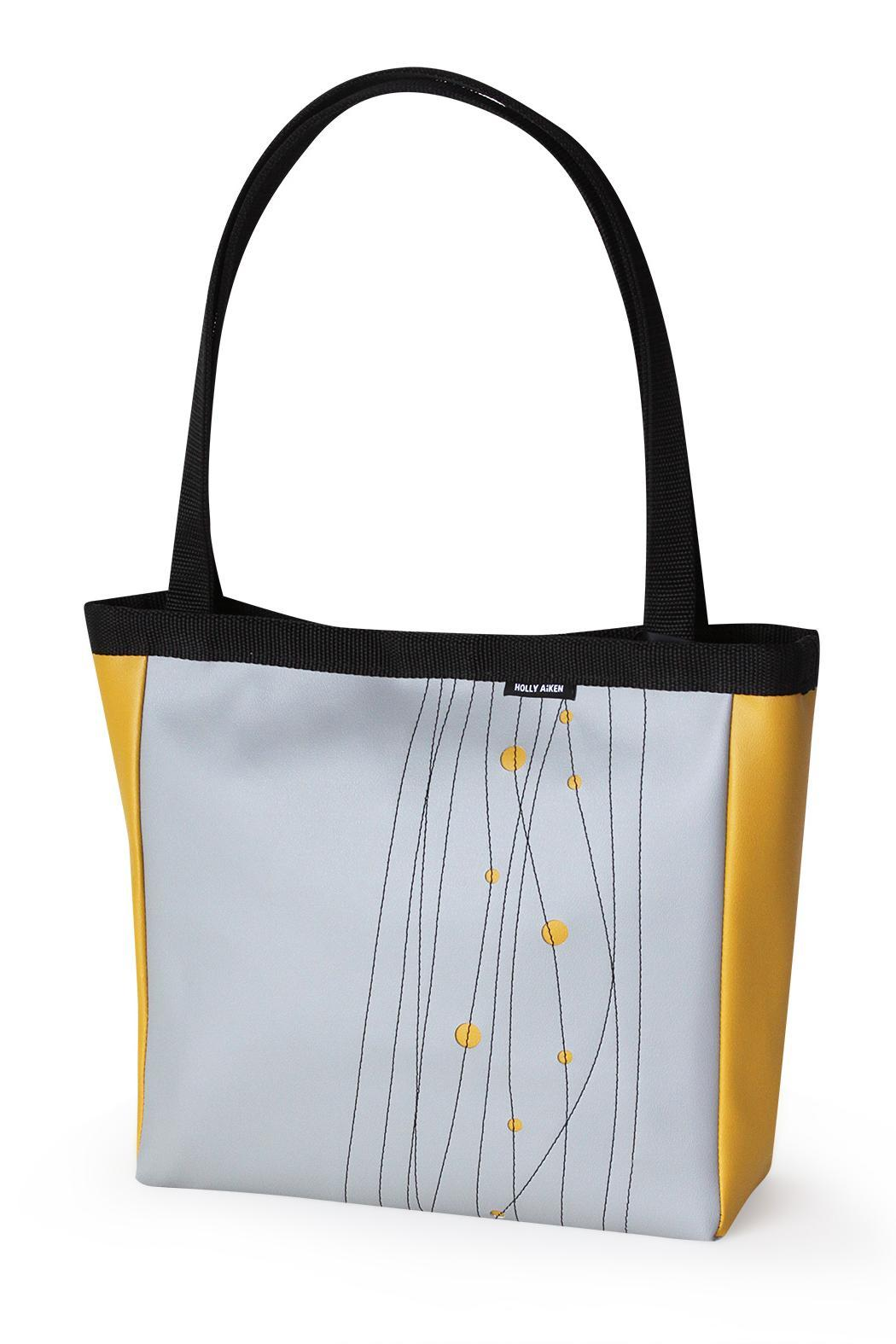 Holly Aiken Vegan Leather Sedan Tote - Front Cropped Image