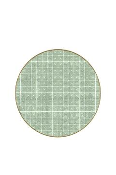 Shoptiques Product: Round Placemat Green