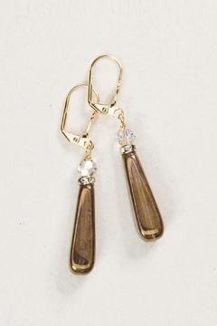 Shoptiques Product: Crystal Glass Earrings