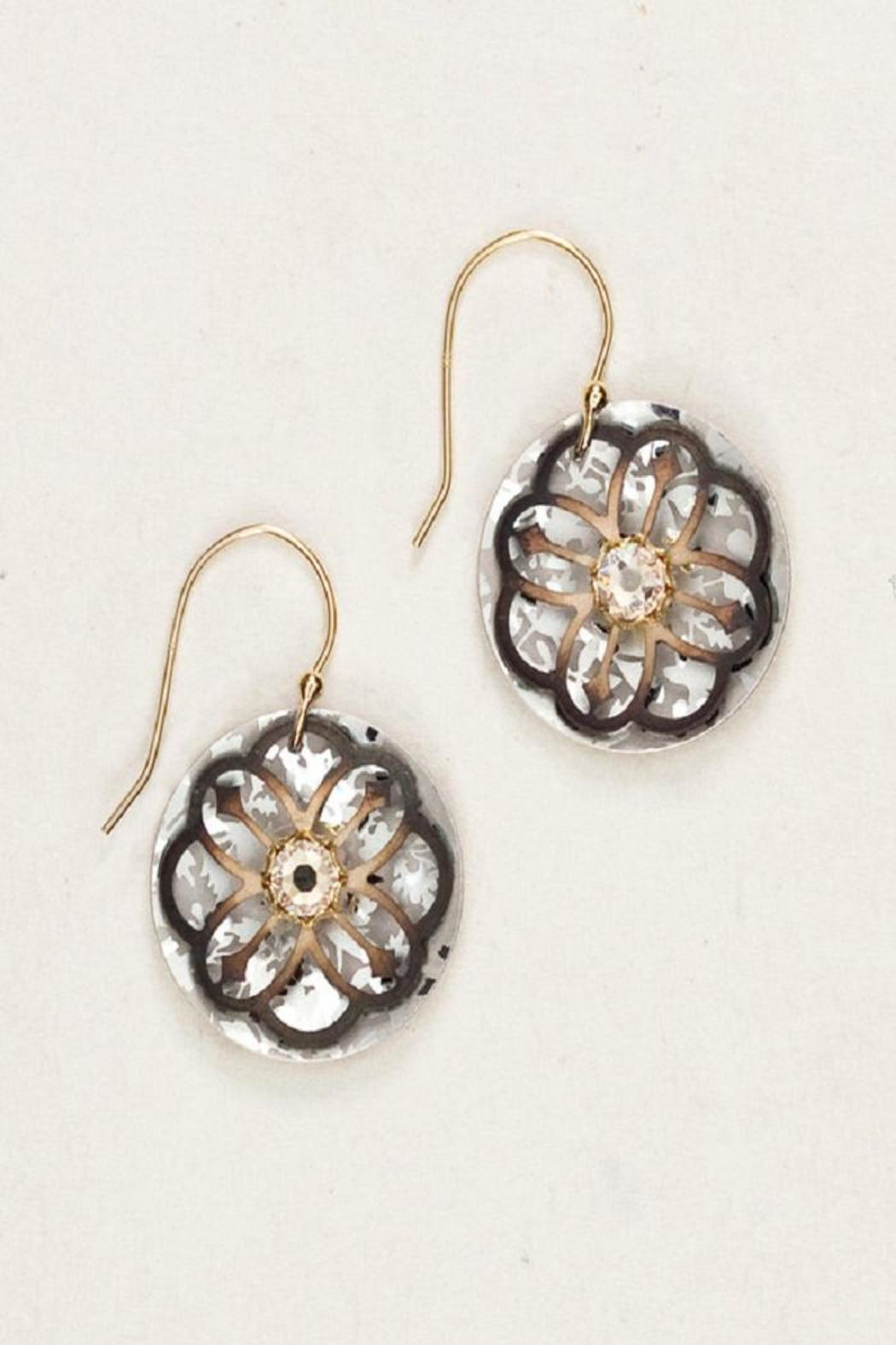 Holly Yashi Sterling Swarovski Earrings - Main Image