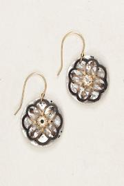 Holly Yashi Sterling Swarovski Earrings - Front cropped