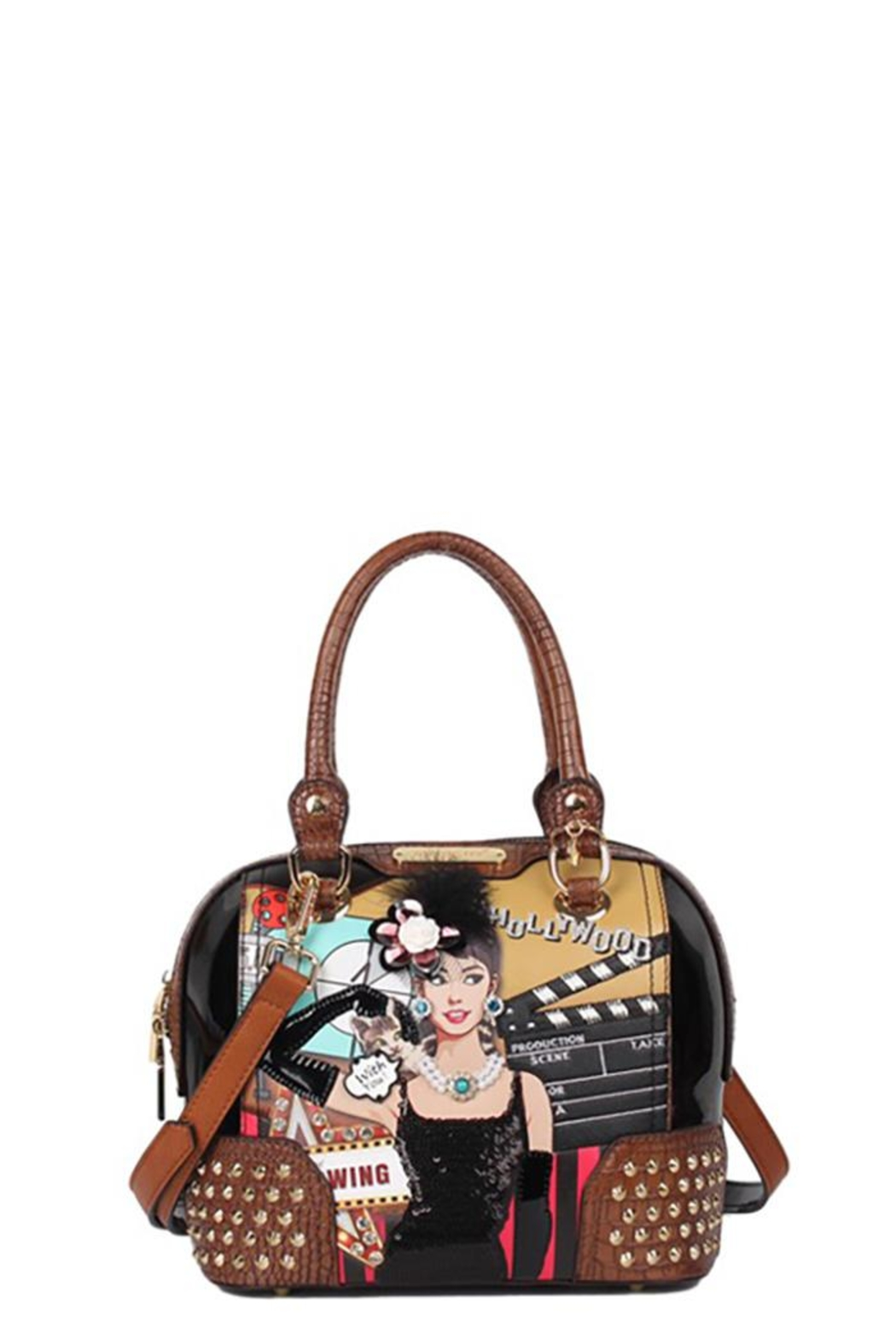Nicole Lee Hollywood Star Dome-Bag - Front Cropped Image