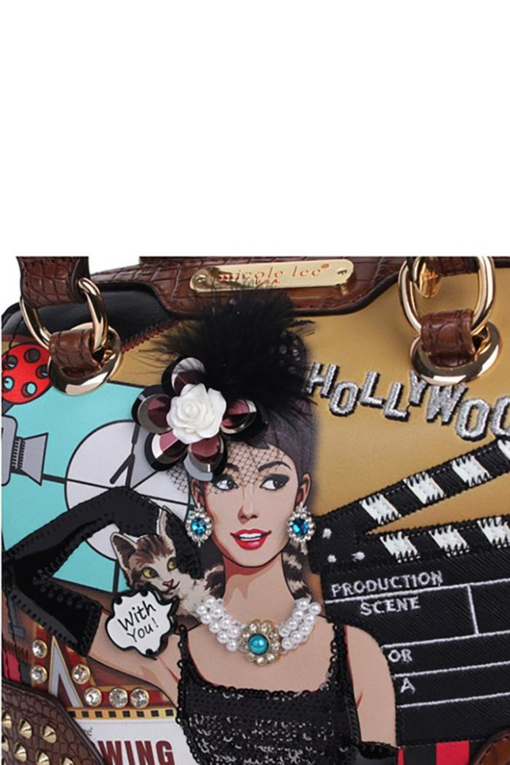 Nicole Lee Hollywood Star Dome-Bag - Front Full Image