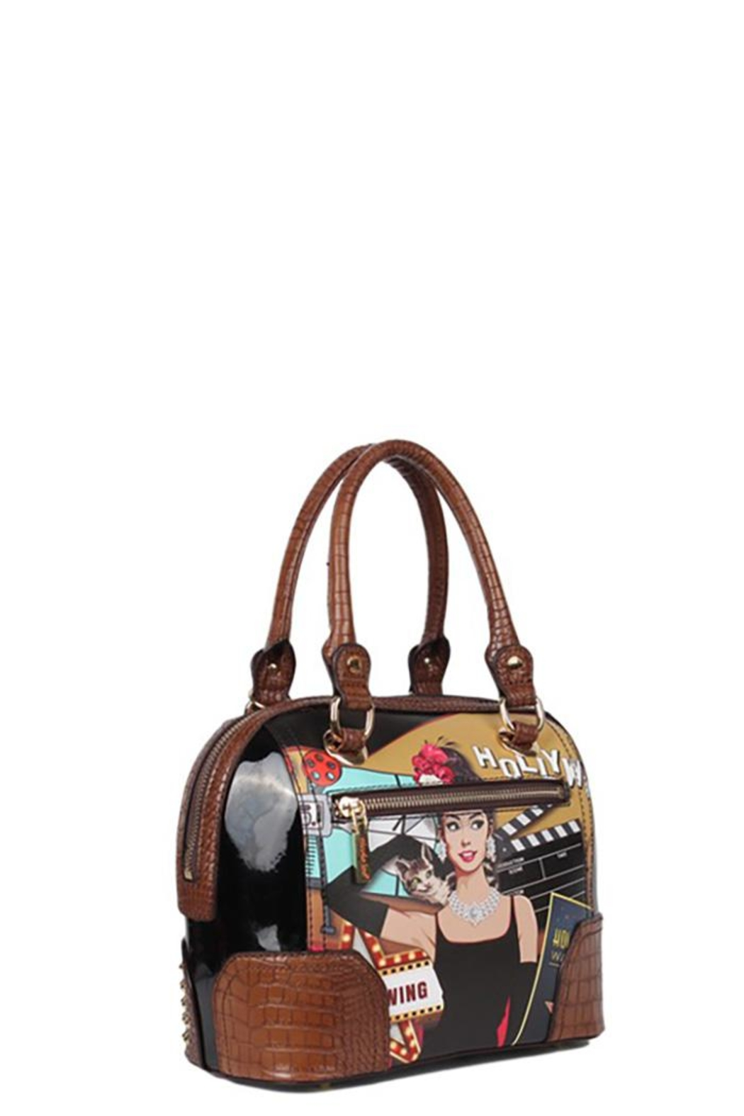 Nicole Lee Hollywood Star Dome-Bag - Back Cropped Image