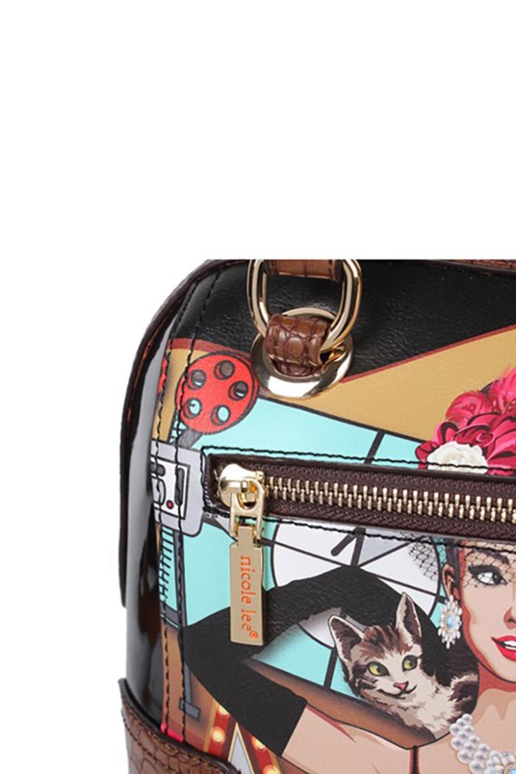Nicole Lee Hollywood Star Dome-Bag - Side Cropped Image