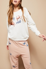 All Things Fabulous Holy Crab Sweatshirt - Side cropped