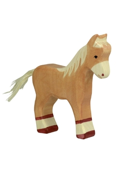 Shoptiques Product: Wooden Brown Foal Toy