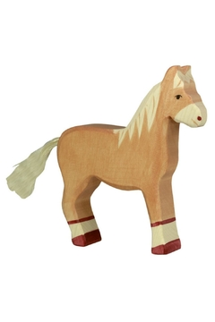 Shoptiques Product: Wooden Horse Standing Toy