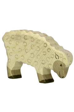 Shoptiques Product: Wooden Sheep Feeding Toy