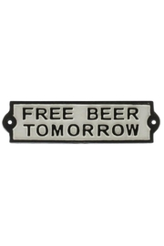 Homart Cast Iron Beer Sign - Product Mini Image