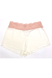 Samantha Chang Home Apparel Lace Waist Shortie - Product Mini Image