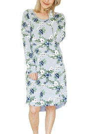 Home-lee Limited Floral Tee Dress - Product Mini Image