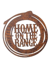 Manual Woodworkers and Weavers Home on the Range Sign - Product Mini Image